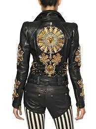 embroidered leather jacket makaroka com