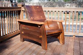 Recling heavy duty outdoor chair