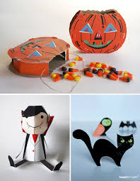 last minute halloween paper crafts how about orange it s not too late to make a last minute halloween paper toy get the fam printing and folding these diy projects tonight
