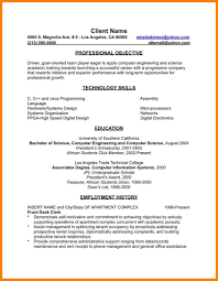 7 english major resume precis format