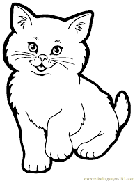 Small Picture Cat Coloring Pages Pdf Coloring Pages