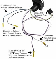 adapter 4 pole to 7 pole and 4 pole hopkins wiring 37185