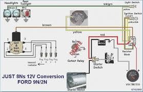 ford 9n wiring diagram 4 mapiraj ford 9n wiring diagram 12 volt conversion at Ford 2n Wiring Diagram