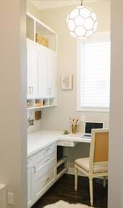 home office shaped. Home Office With L Shaped Built In Desk
