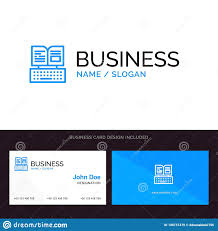 Facebook Logo For Business Card Logo And Business Card Template For Key Keyboard Book