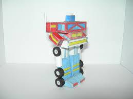 Optimus Prime Embroidery Design G1 Optimus Prime Paper Transformer