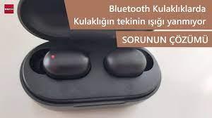 Bluetooth Kulaklıkların Birisininin Işığı Yanmıyor Sorunu Çözümü - YouTube