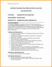 Administrative Assistant Duties 24 Latest Administrative Assistant Duties Resume Professional 24