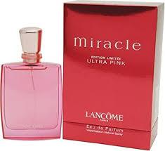 <b>Miracle Ultra Pink</b> By <b>Lancome</b> For Women. Eau De Parfum Spray ...