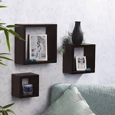 wooden cubes furniture. amazoncom melannco square wood shelves set of 3 espresso home u0026 kitchen wooden cubes furniture n