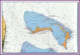 Nautical Map Of The Abacos Bahamas Map Resume Examples