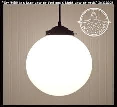 schoolhouse light fixture milk glass pendant light large globe the lamp goods schoolhouse light fixture home depot