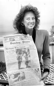 Look back at Miss America 1980s Miss America.