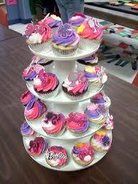 Barbie Cupcakes Cute Ideas Barbie Birthday Cake Barbie Cupcakes