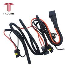 taochis 12v 35w 55w wiring harness controller relay control h1 h3 h7 taochis 12v 35w 55w wiring harness controller relay control h1 h3 h7 cable wire 9005 9006