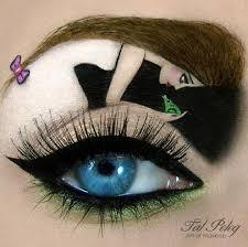 fantasyeyemakeup eyefantasy fantasy eyemakeup eyeliner art