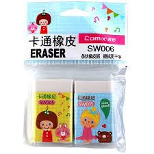 Comix SW006 <b>Funny</b> Erasers for Kids <b>2PCS</b>/SET Sale, Price ...