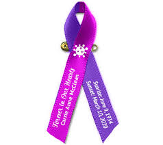 Some people feel that they should not really be called. Corona Virus Covid 19 Awareness Memorial Ribbon Pack Of 10 The Funeral Program Site