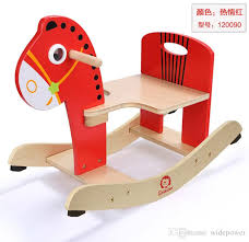wooden rocking horse animal kid chair children baby vintage rocker toy infants baby kids developmental toy fast zd017a rocking horse developmental