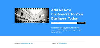 Blue Business Landing Page And Coming Soon Page Think