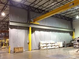 industrial curtains warehouse divider