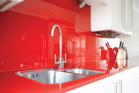 White And Red Kitchen Artistic Red Kitchens With Dark Cabinets With Mode 4760x3055