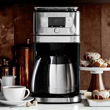 A thermal carafe coffee maker is just among the various types of coffee maker. Cuisinart Burr Grinder Brew Coffee Maker With Thermal Carafe Williams Sonoma