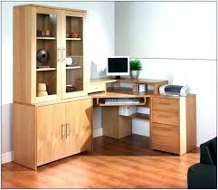 desk units for home office. Corner Desk Units With Shelves Office Storage White For Home H