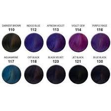 Shades Of Purple Colour Chart 28 Albums Of Purple Hair Dye Color Chart Explore