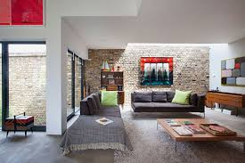 Retro Style In Interior Design Ideas With Rustic Furniture And Brick Wall  Decor