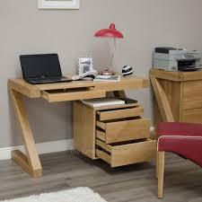 small oak desk with drawers furniture corner black