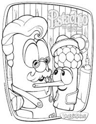 Small Picture Veggie Tales Pistachio The Little Boy That Woodnt Coloring Pages