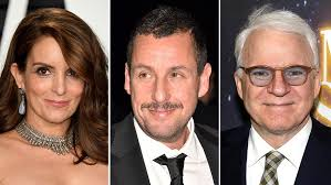 tina fey to adam sandler see all the