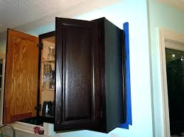 staining cabinets without sanding how to