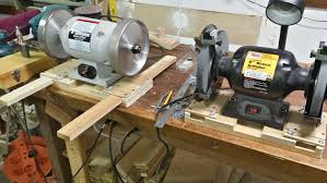 bench grinder table. because after nearly 40 years of woodworking, i think it might be the first time i\u0027ve used a grinder that wasn\u0027t attached to bench with c-clamps. table y
