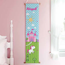 Personalized Princess Growth Chart Personalized Princess Castle Growth Chart Walmart Com
