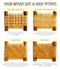 replace wicker chair seat how to weave a replacement cane with fabric