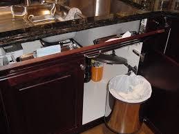 Under Kitchen Sink Cabinet Kitchen Garbage Cans Under Sink Innovative Kitchen Garbage Cans