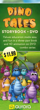 dino tales storybooks book dvd bo featuring 3d animation values education made pa eschildren
