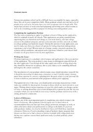 graduate school resume templates cipanewsletter cover letter grad school resume template grad school application