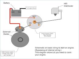 hei starter wiring diagram wiring diagram \u2022 2003 Chevy Silverado Starter Relay at Gm Distributor Wiring Diagram Without Starter Relay