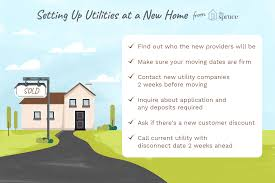 Light Companies That Require No Deposit Setting Up Utilities In Your New Home Before You Move House