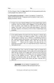 glass menagerie essay topics the glass menagerie essay topics