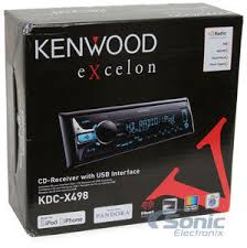 kenwood kdc x498 kdcx498 single din car stereo w ipod android product kenwood excelon kdc x498