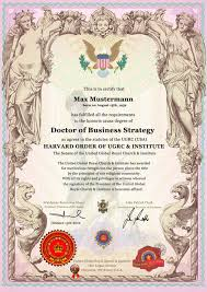 Professortitel Professor Title Buy Present Certificate Birthday Of
