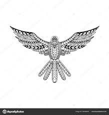 голубь тату векторное изображение Patrimonio 183180316
