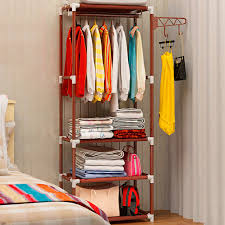 Coat Rack Shelf Diy Simple Coat Rack Floor Clothes Storage Hanging Hangers Rack Creative 80