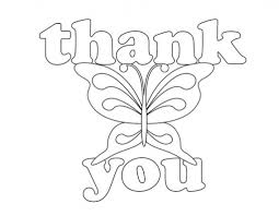 Thank You Coloring Pages Printable 2747461