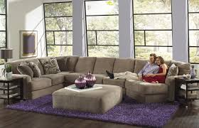 regal 3 piece modular sectional and cocktail ottoman