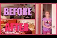 Bedroom Decor / Fun Easy Or Cheap Ways To Redo Your Room!
